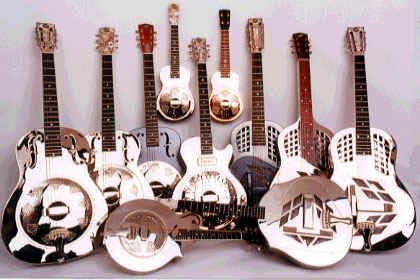 Ukuleles and Guitars